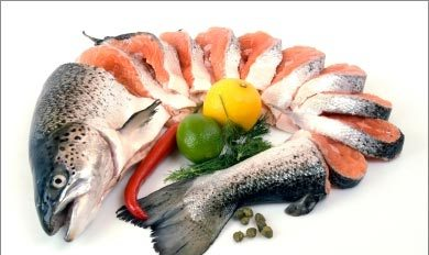Рыба при забалевании рак желудка
