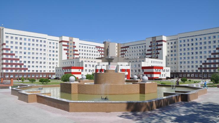 Краевая больница города барнаула