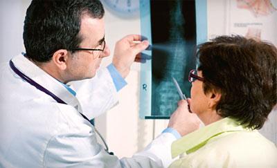 Диагностика рака спины