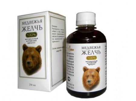 Лечение рака печени медвежьей желчью