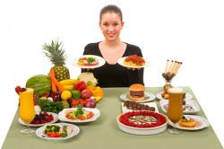 Рекомендации общего характера по принятию пищи