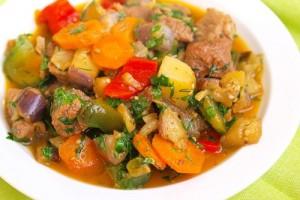 Паровое рагу из овощей