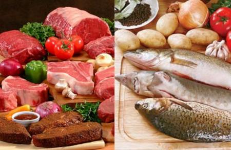 Мясо или рыба - чему отдать предпочтение?