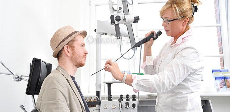 Diagnostika raka nosa
