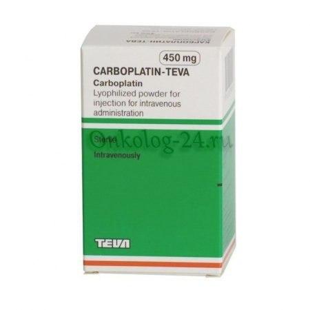 Фото препарата Карбоплатин