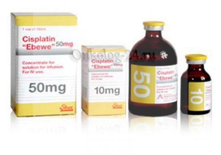 Фото препарата Цисплатин