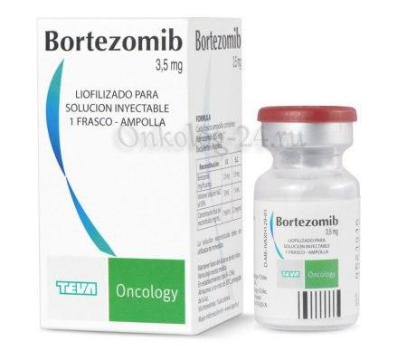 Фото препарата Бортезомиб