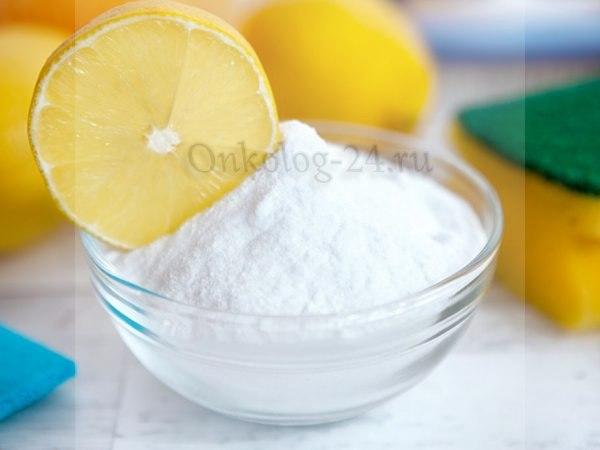 Limon i soda protiv raka podzheludochnoy zhelezy