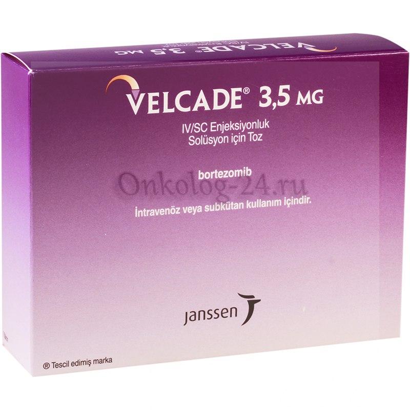 Фото препарата Велкейд 3,5 мг