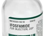 Ифосфамид (Ifosfamide): полная инструкция по применению, форма выпуска и цена