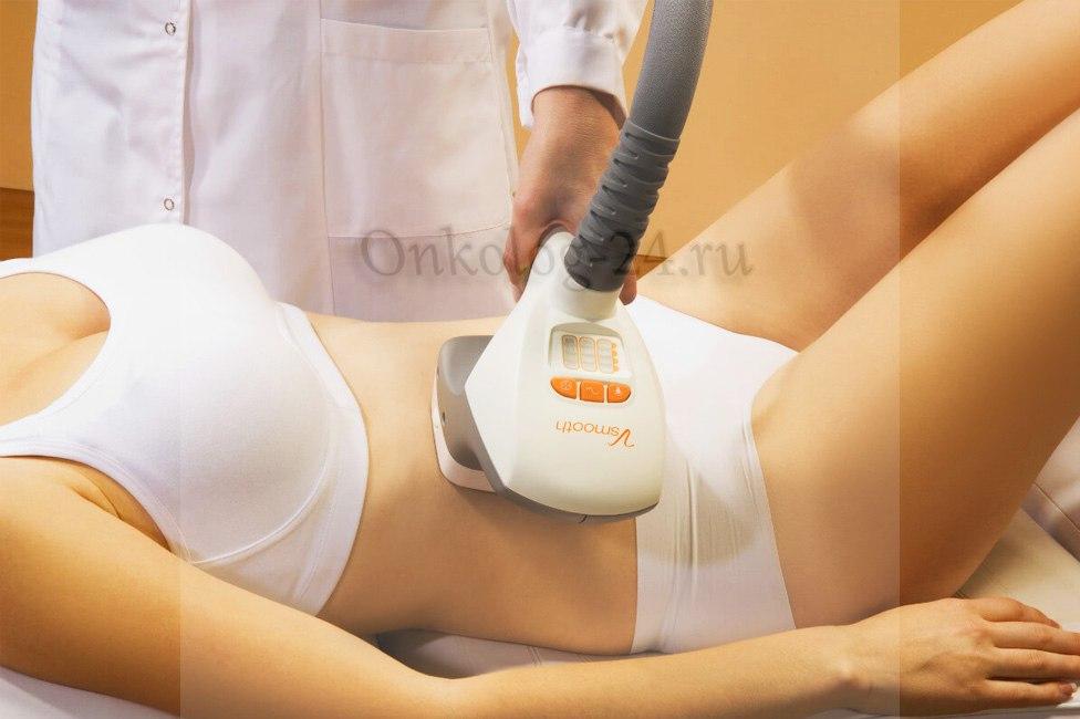 Massazh pri miome matki